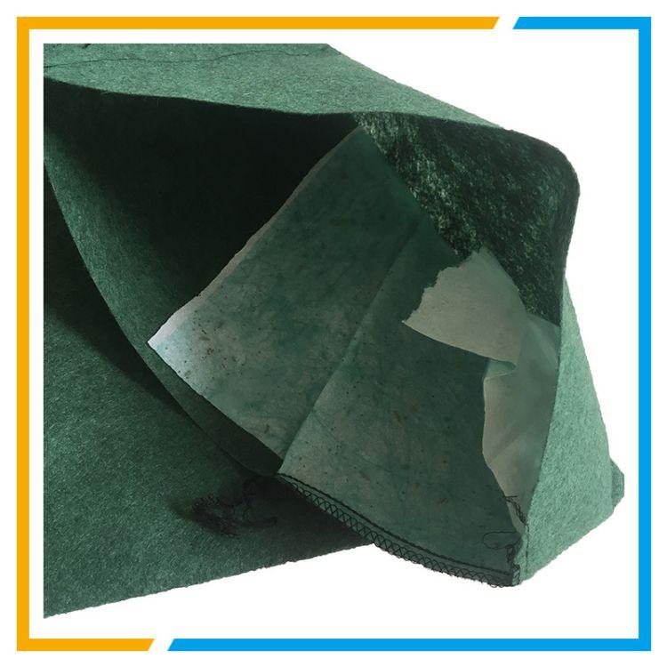绿化护坡丙纶生态袋 边坡防汛抗冲刷防护土工布袋 带草籽生态袋
