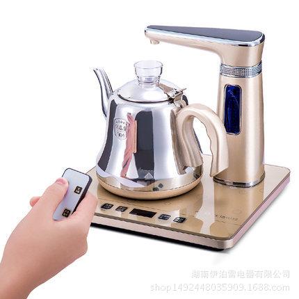全自動上水電熱水壺304不銹鋼智能遙控抽水單爐電茶爐功夫茶藝爐