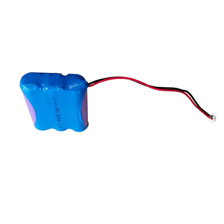 18650锂电池组 11.1v 2600mah医疗设备健康器械仪器便携设备