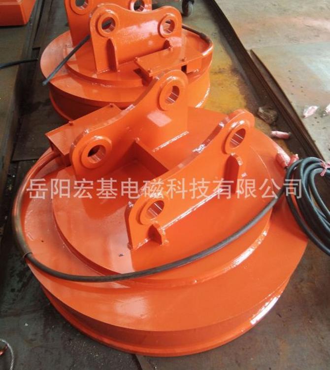 MW5系列吊運廢鋼用起重電磁鐵