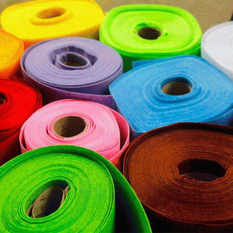 彩色化纤毛毡 厂家供应工业化纤毛毡 涤纶化纤毛毡 可定制各种颜