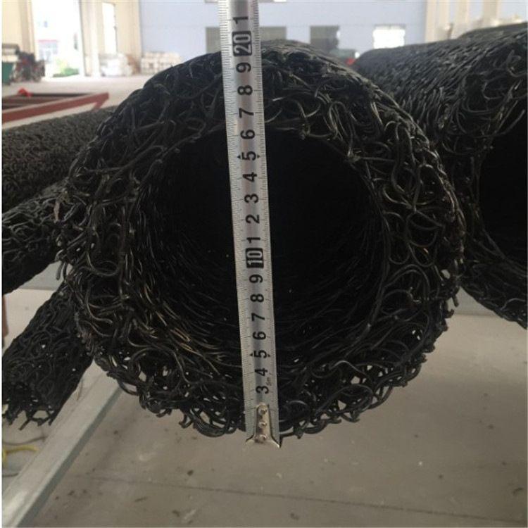 供应塑料盲沟 排水盲管 乱丝渗水盲管直径50-300mm厂家直销
