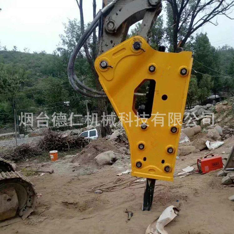 厂家直销液压破碎锤155韩国中缸炮头犀牛小松斗山凿岩开矿炮锤