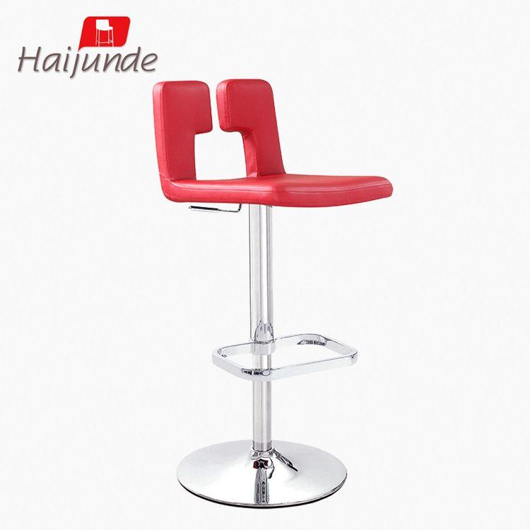 创意酒吧椅 KTV带踏脚酒吧转椅 批发酒吧椅 可定制金属底盘酒吧椅