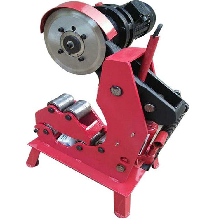 供应电动液压切管机QG-325消防管道切割机 无毛刺割管机 滚槽机