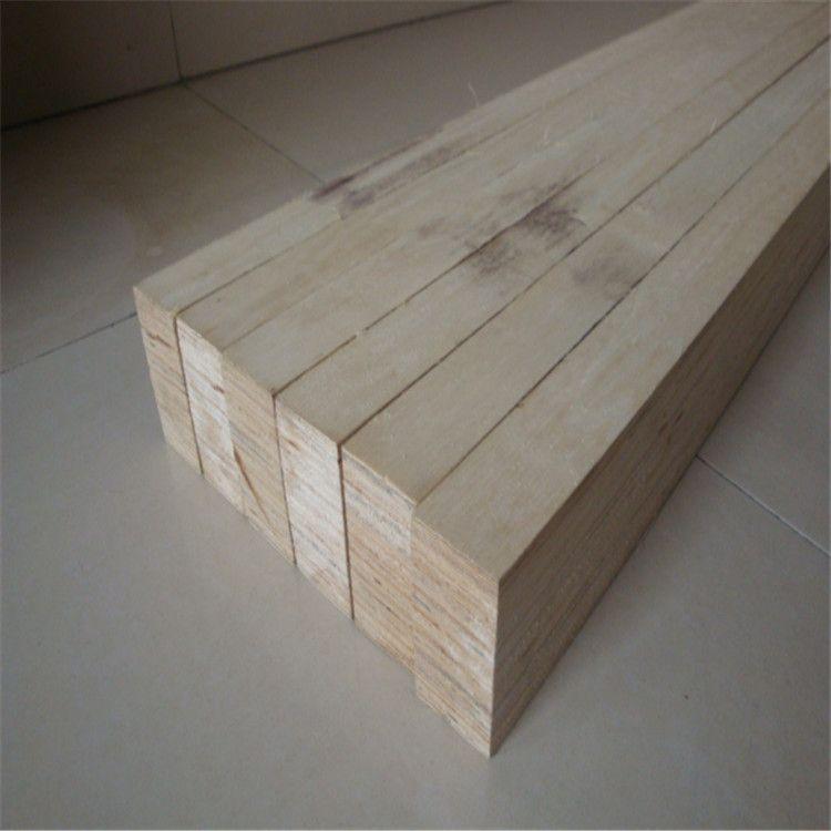 包装用胶合板木方条承重能力强LVL全顺向胶合木方条