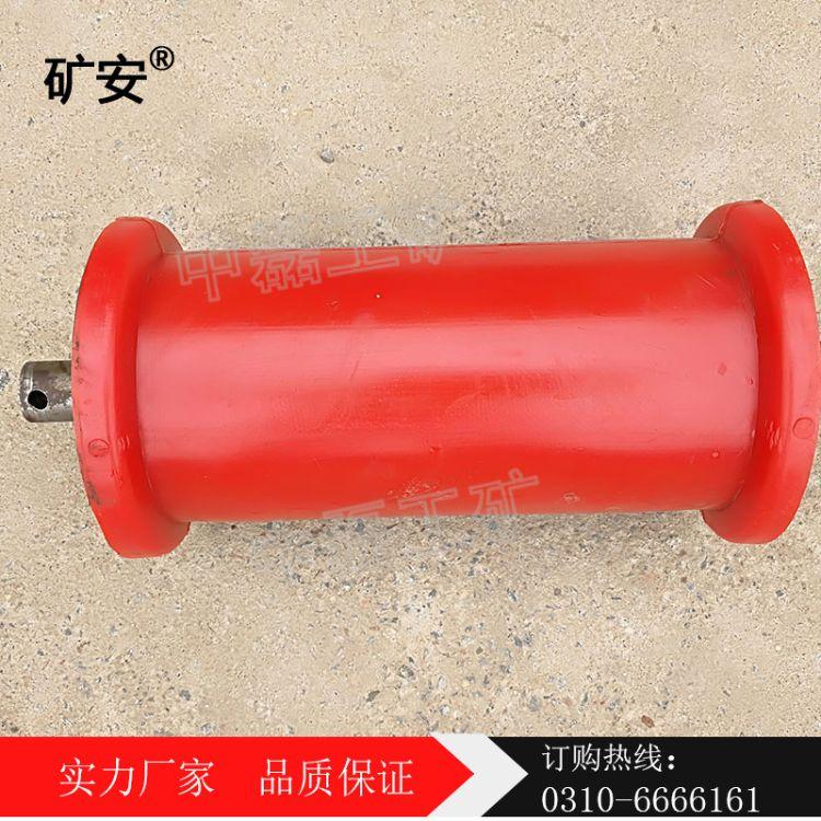 矿安供应 尼龙地滚 矿车轮 扎绳轮 国标地滚 型号齐全 可订制 品质保障