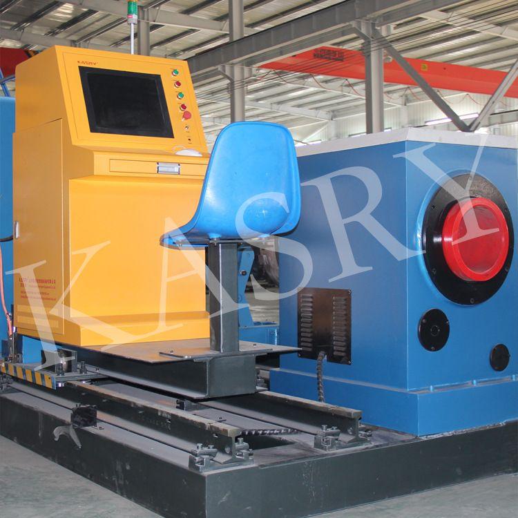 凱斯銳碳鋼不銹鋼數控相貫線圓管切割機管材切割60-630mm定制廠家