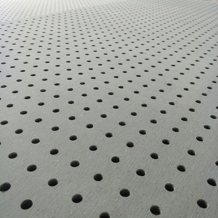 6mm-12mm厚度纖維水泥穿孔吸音板