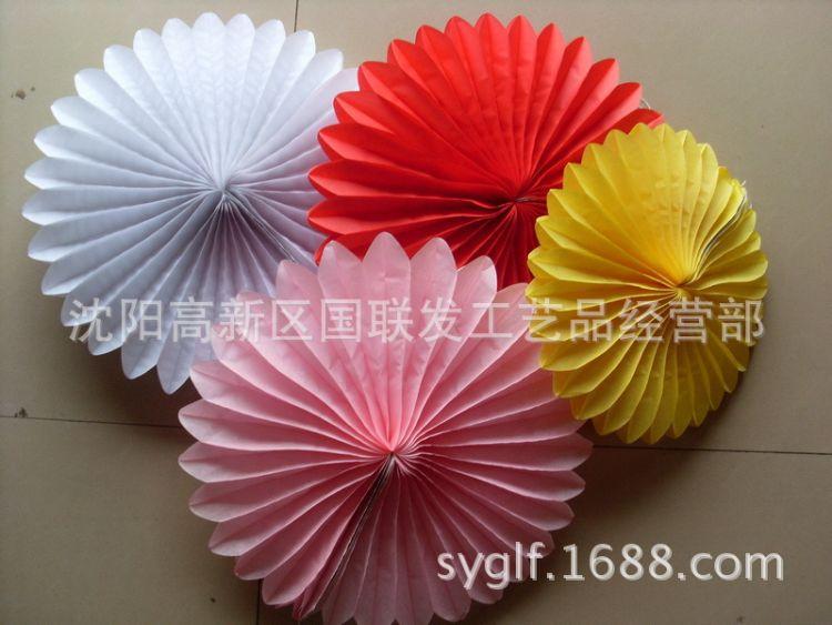 地摊玩具 DIY纸花中国传统装饰花 纯手工古典摆饰 纸质工艺