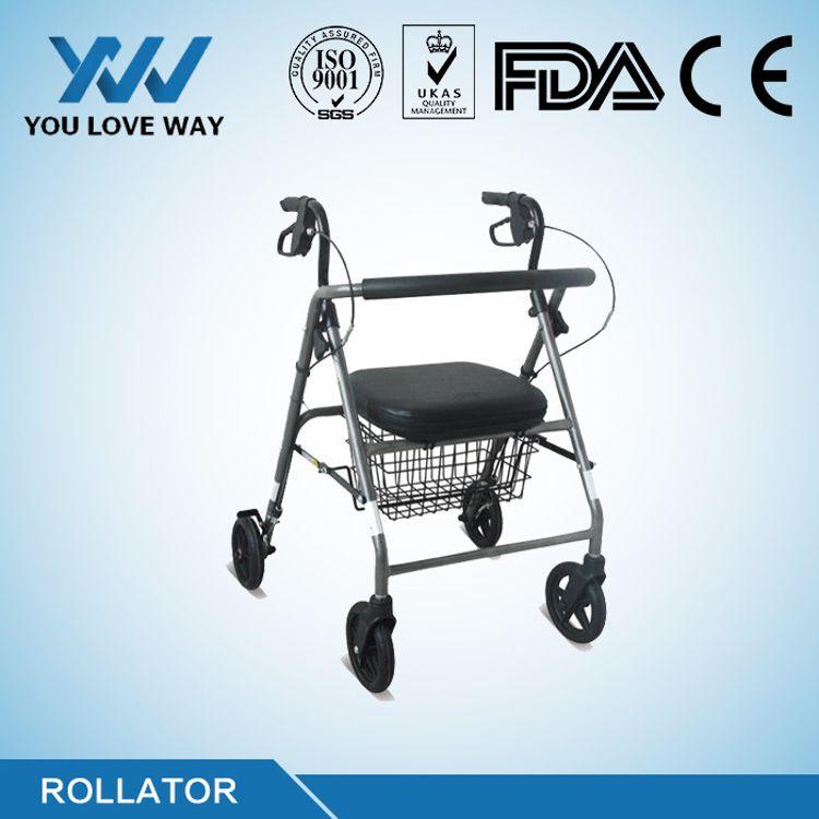 老年人用四輪車,助行器,寧波工廠直供