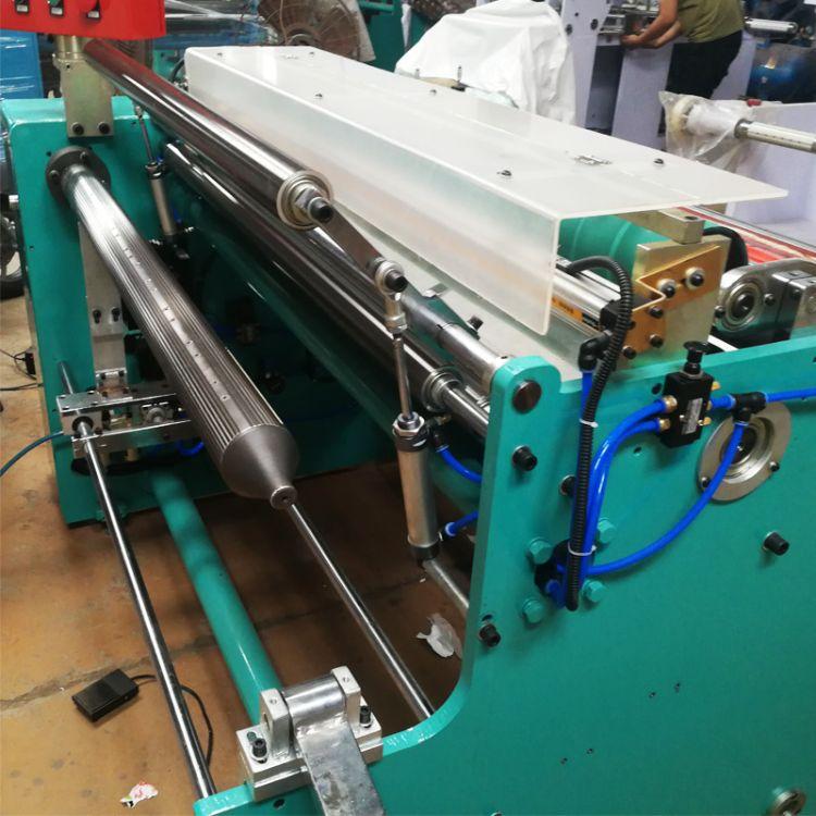 厂家定制相纸专用复卷机  双伺服电机 收卷平整 米数精准
