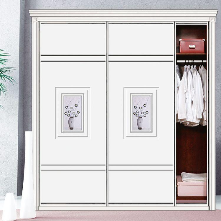 沙河厂家直销高密度板推拉衣柜门以及各种衣柜板材支持定制