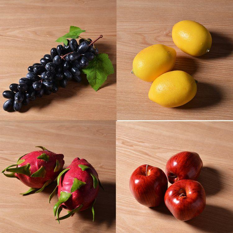 超高仿真水果蔬菜假水果 模型 家居廚房客廳茶幾裝飾品配套產品
