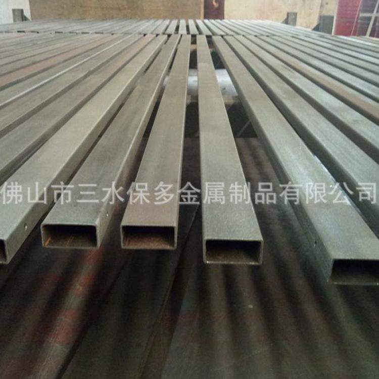 铝合金方管铝方管矩形管扁管扁通铝方通型材方铝管四方管方形