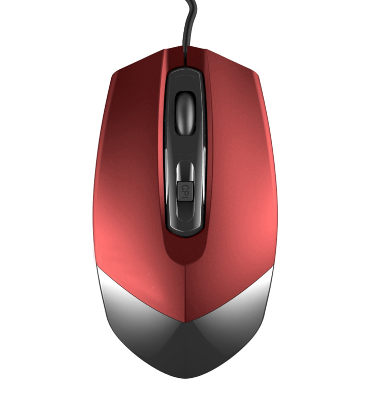 hot3d wired optical mouse private wired mice factory