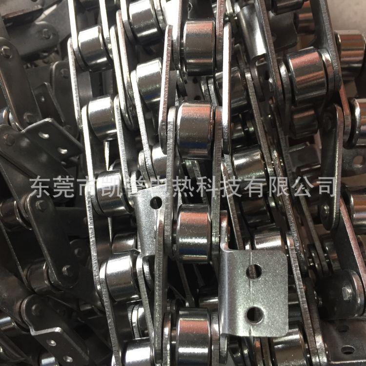 厂家供应 正宗不锈钢传动链条 工业高温传动链条 不锈钢传动链条