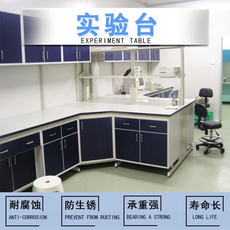 实验台厂家实验室桌子理化板操作台防腐蚀钢制实验台操作台
