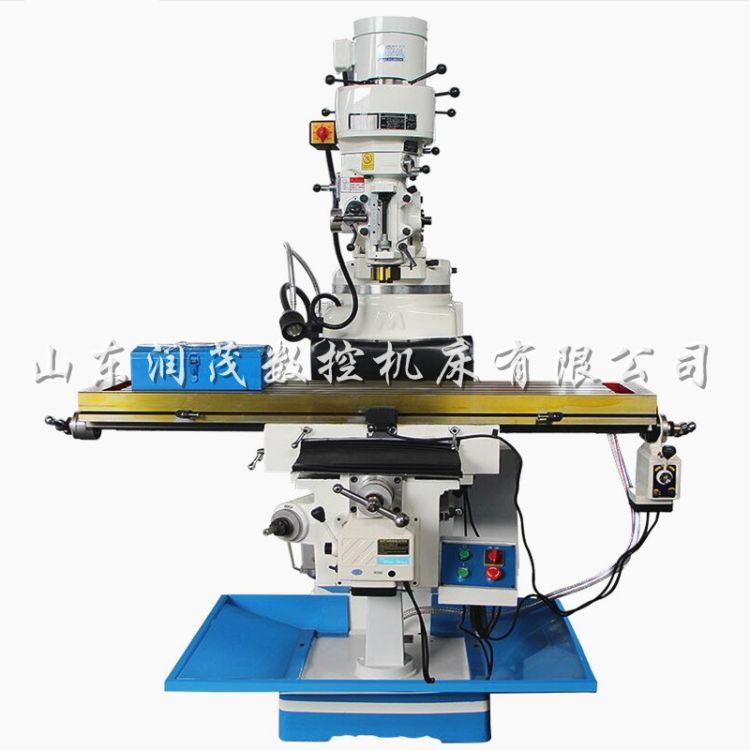 m4銑床自動進給銑床m4萬能搖臂銑床 4h高速炮塔銑床廠家直銷