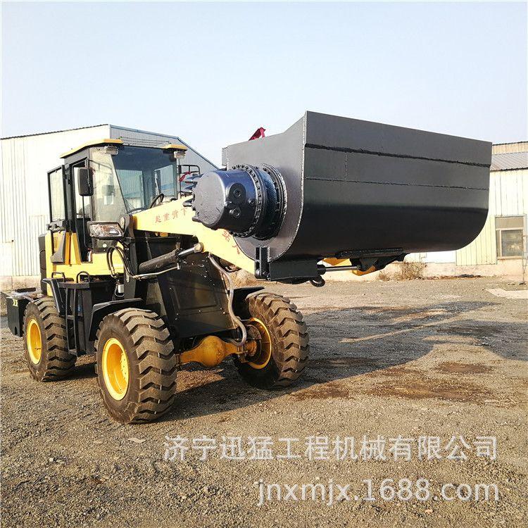 铲斗搅拌混凝土的装载机 铲车斗可以搅拌混凝土