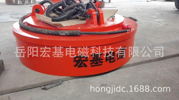 MW5系列吊運廢鋼起重電磁鐵