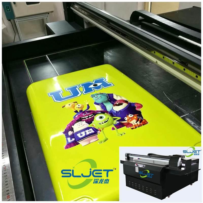 深龙杰旅行箱彩印机/行李箱数码印花机/PC拉杆箱打印机