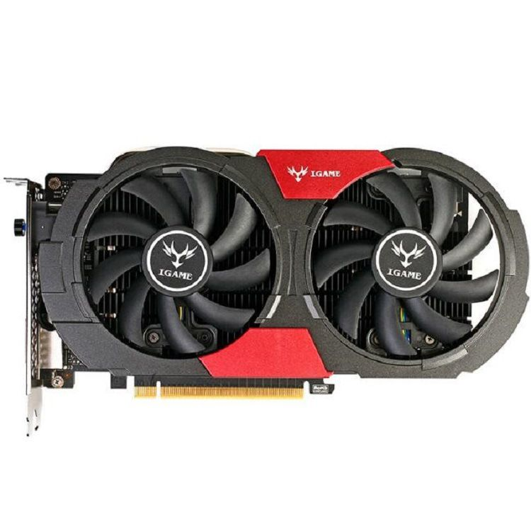厂家批发Colorful七彩虹iGame GeForce GTX1050Ti 烈焰战神U4GD5