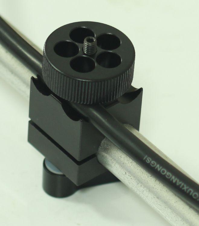 厂家直销摄影配件 5D2 5D3 单反摄像机套件 15mm单孔线夹摄像配件