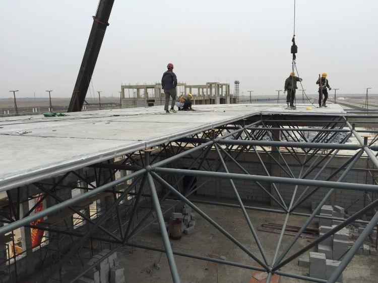 偉澤供應鋼骨架輕型板網架板 鋼骨架屋面板生產廠家