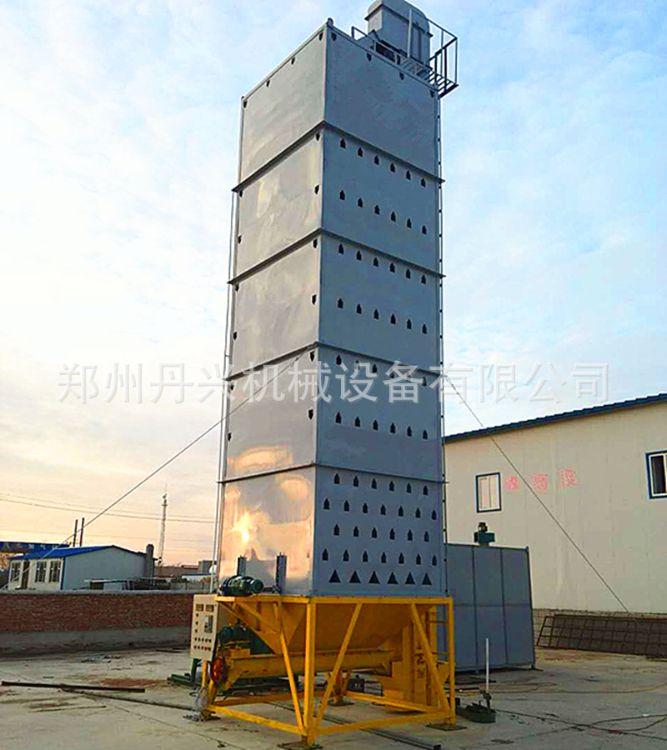 批发塔式粮食烘干机 大型稻子干燥机 自动在线测温测湿稻谷烘干塔