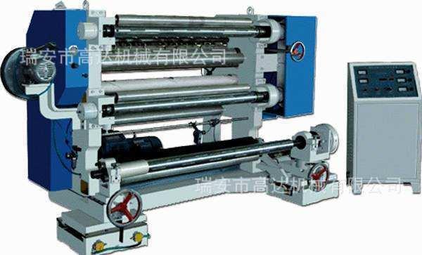 瑞安厂家 塑料薄膜立式分切机 自动高速分切机