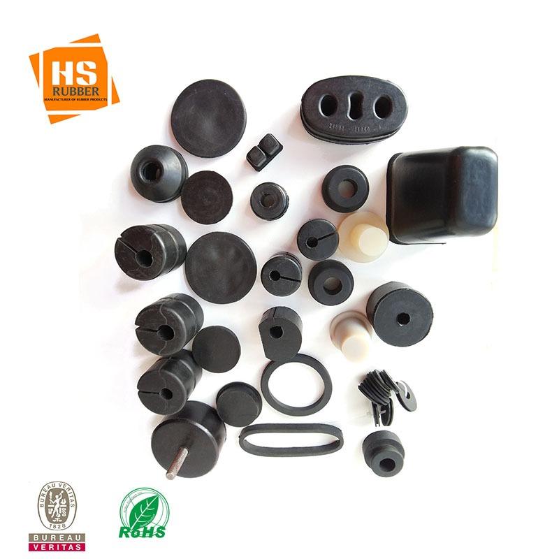 供应橡胶垫 黑色异型橡胶减震垫 电器减震防滑垫 三元乙丙胶垫 模压橡胶制品