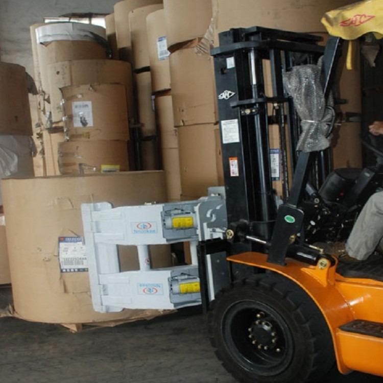 转让二手3吨废纸抱夹叉车 进口二手软夹抱叉车出售