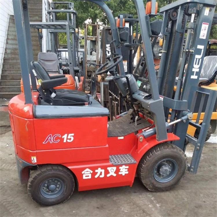 转让合力1.5吨仓储电动叉车 出售全交流二手电瓶叉车