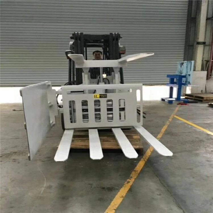 转让二手废纸夹包叉车 二手3吨包夹叉车带360度旋转