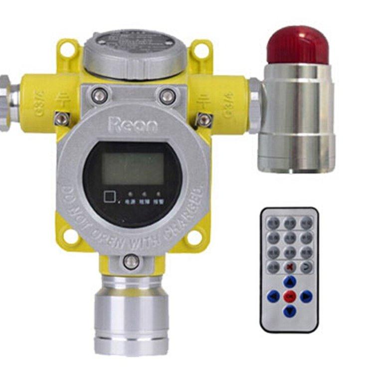 米昂电子厂家直供 江苏燃气泄漏报警器联动电磁阀排风扇 RBT-6000-ZLGX型气体报警器