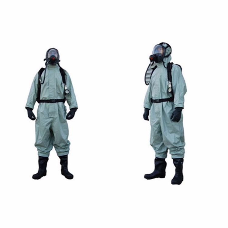 米昂电子厂家直供 RHFIA型全封闭重型防化服 涉氨防护用气密性防化服订购电话