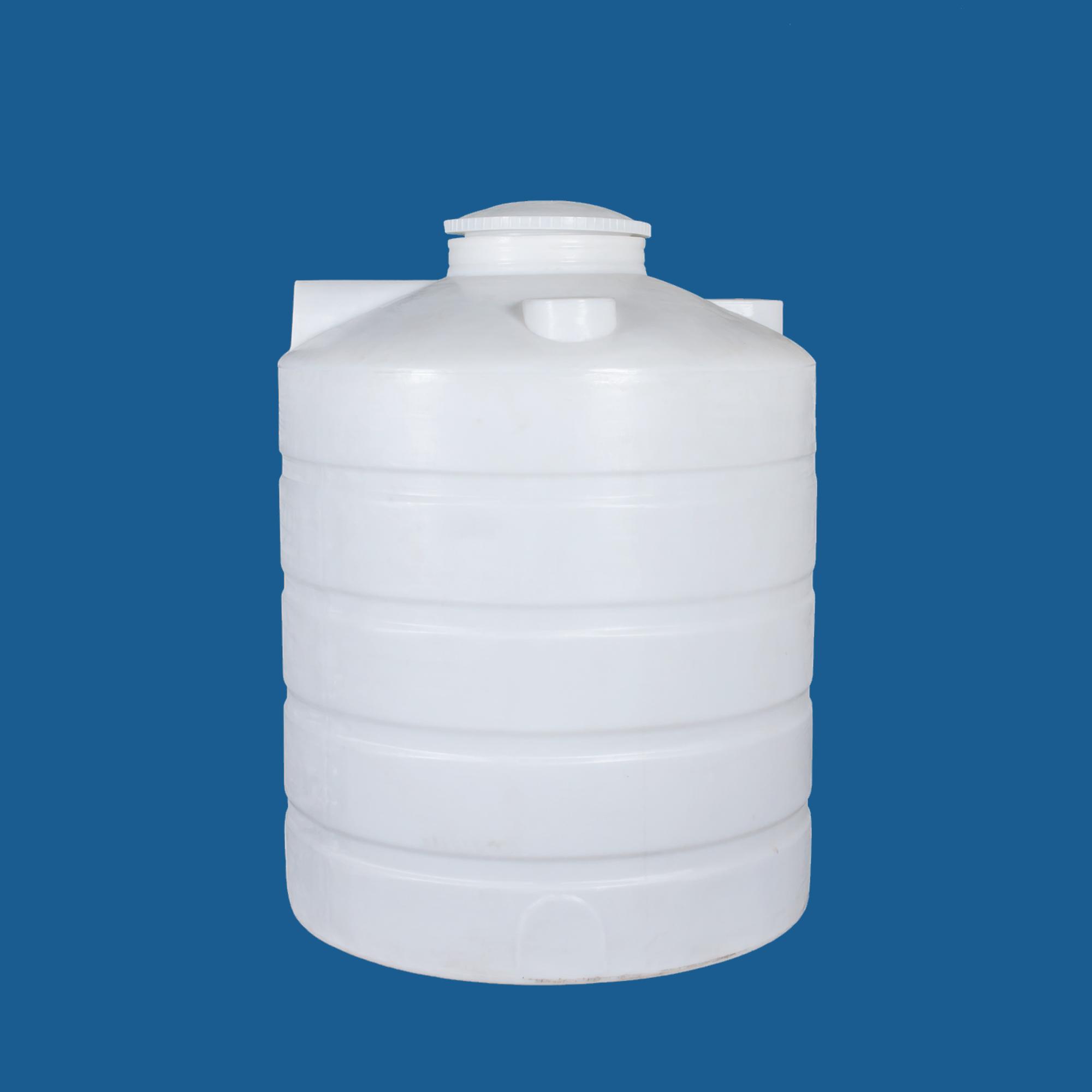 重慶塑料水塔1.5噸防腐塑料罐加藥攪拌桶