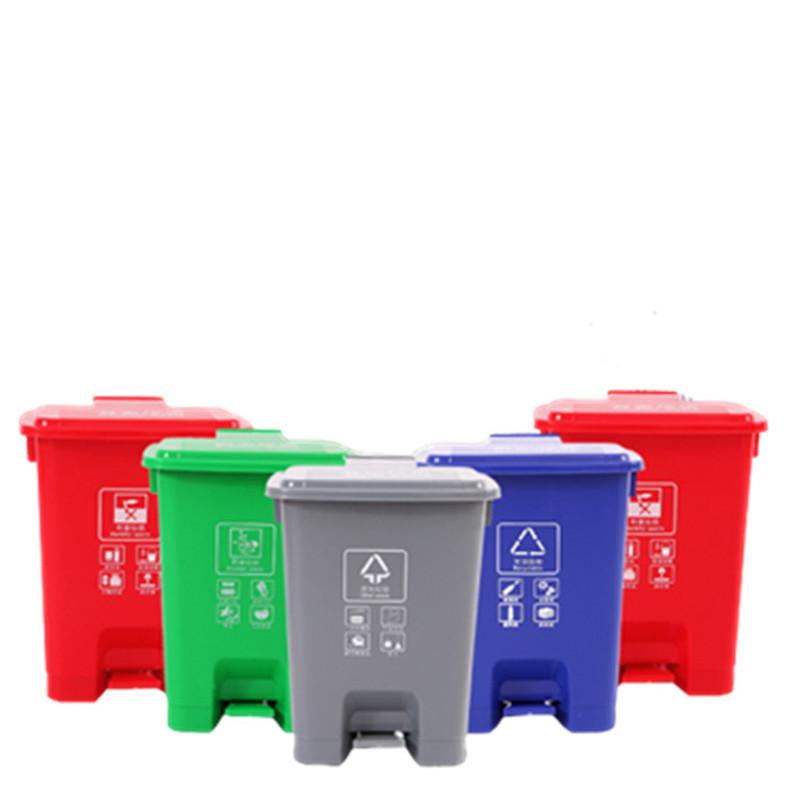 60L腳踩環衛垃圾桶   益樂塑業  孝感塑料垃圾桶廠家直銷