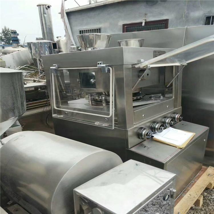 不銹鋼材質 二手9沖壓片機 二手旋轉壓片機金緣供應