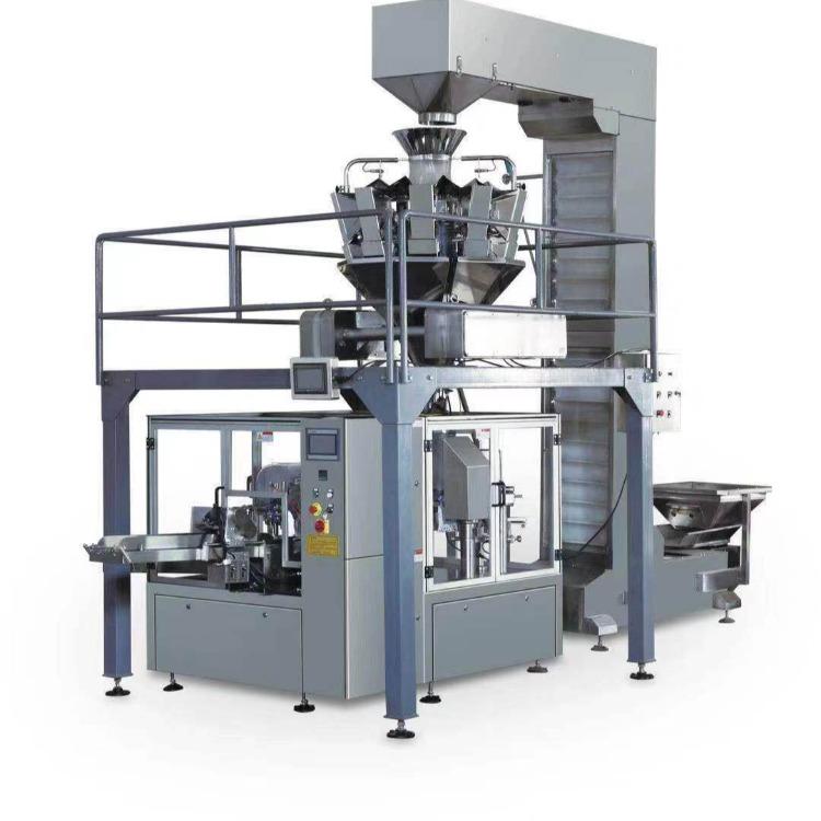 钦典大容量颗粒粉末包装机 大米杂粮智能称重坚果食品灌量定装机大能量分装机