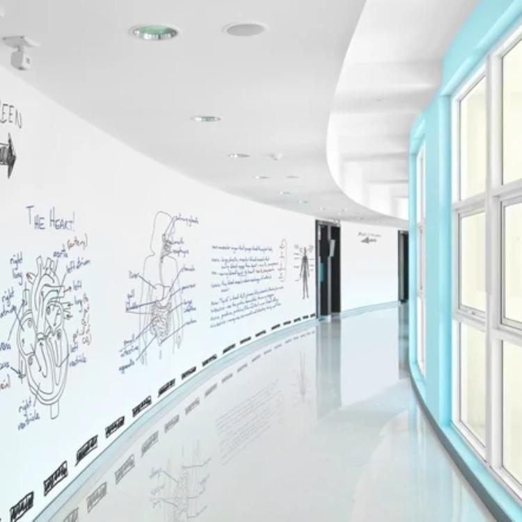 环保水性白板漆儿童涂鸦墙漆磁性画板漆水性笔白色乳胶漆墙面涂料