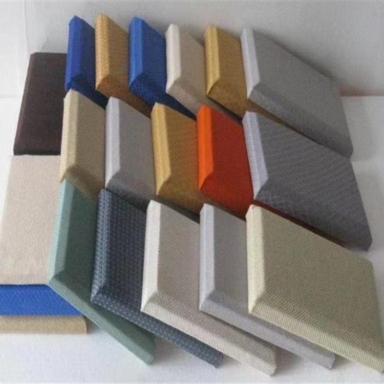 布藝軟包吸音板 歐洛風吸音軟包 軟包吸音板玻纖吸音板吸音隔音材料廠家