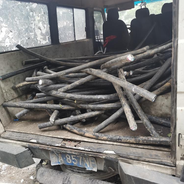 杭州常建筑工地賓館 舊電纜線回收利用