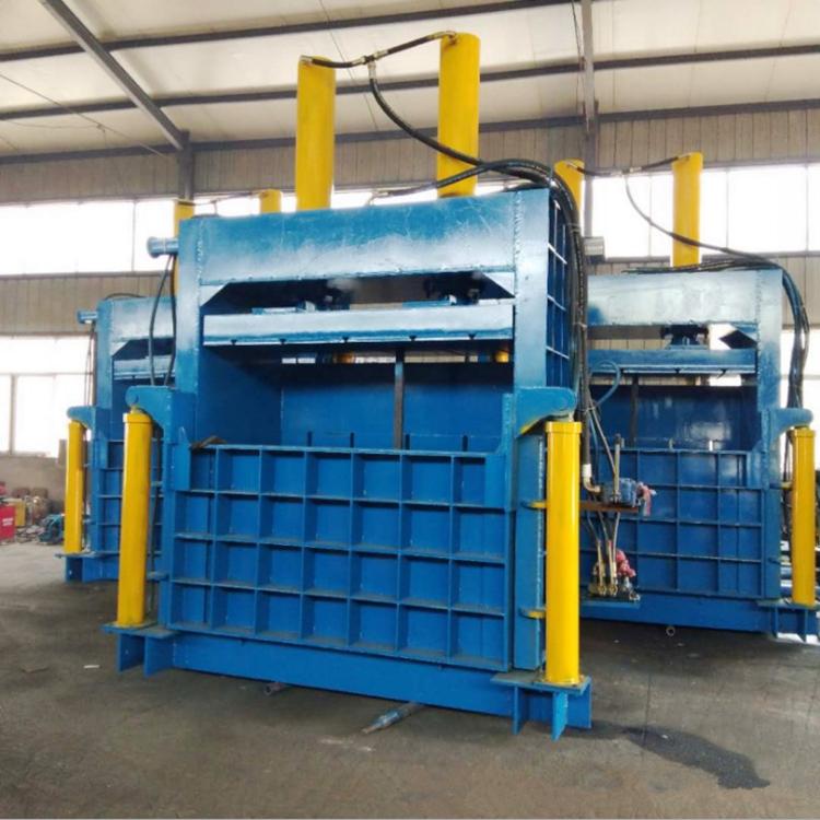 雪安大型  不銹鋼節能金屬液壓打包機  立式加重型金屬打包機  生產廠家