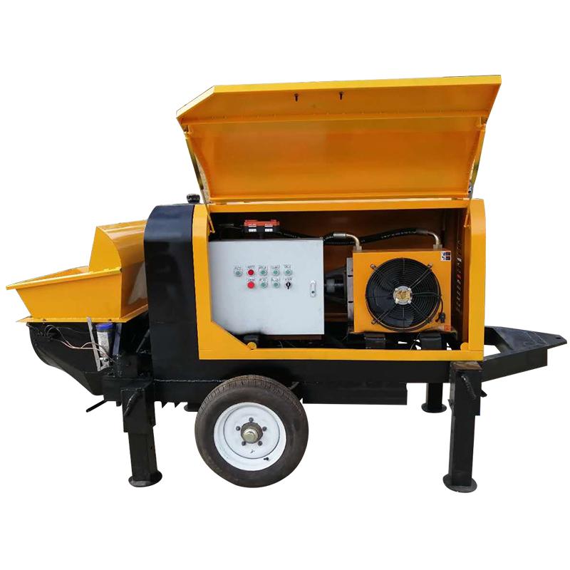 河北 二次結構輸送泵廠家 混凝土地泵 大顆粒輸送泵 鳴工機械 品質有保障