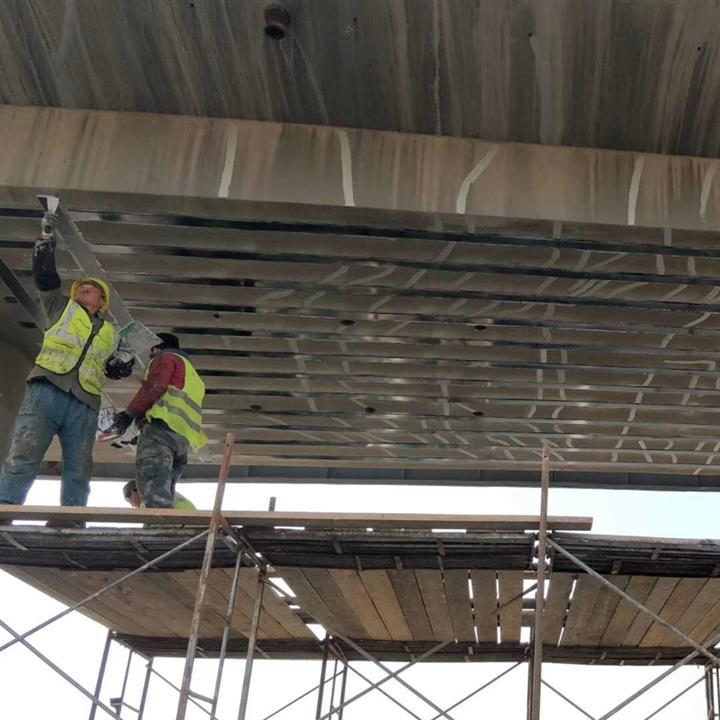無錫橋梁梁體平移支座更換 plc同步頂升更換橋梁支座 木子規格可選
