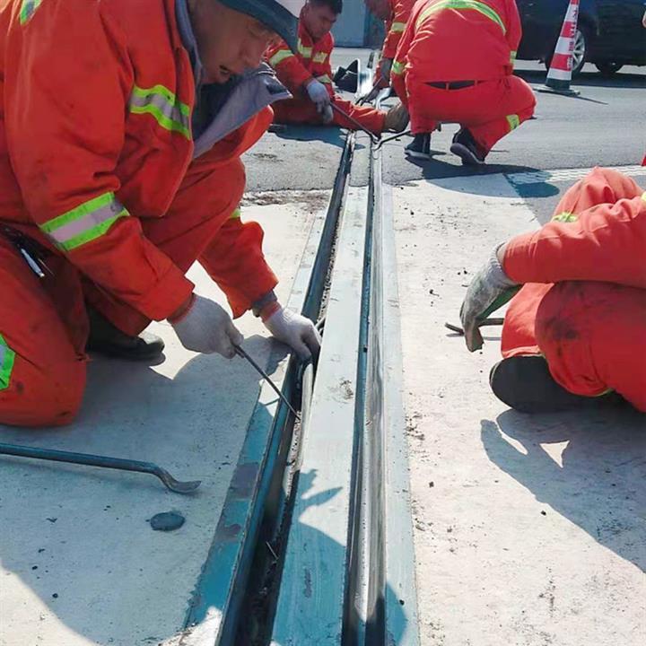 黃南伸縮縫裝置安裝與養護 更換安裝單組式橋梁伸縮縫 木子與你同行