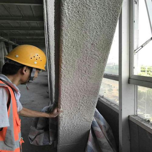 鐸航薄型鋼結構防火涂料現貨供應 非膨脹厚型鋼結構防火涂料 厚型鋼結構防火涂料