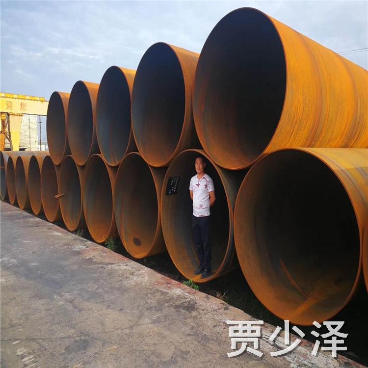 元發管道 涂塑螺旋鋼管廠家 厚壁螺旋鋼管 大量出售